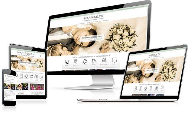 Elle est là... La nouvelle version du site mariage.ch compatible mobile et tablette est enfin disponible. Toute l'organisation de votre mariage dans votre poche :)